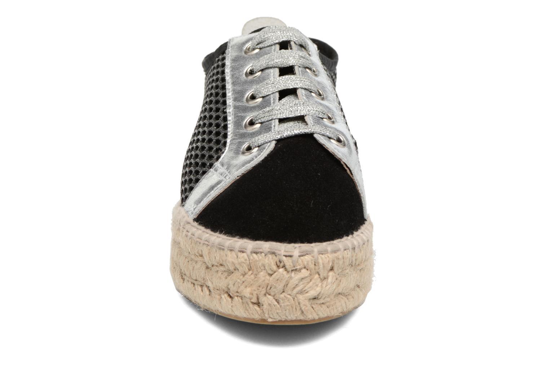 Espadrilles Elizabeth Stuart Roman 864 Argent vue portées chaussures