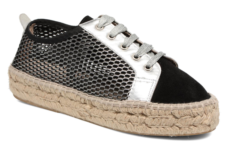 Espadrillos Elizabeth Stuart Roman 864 Sølv detaljeret billede af skoene