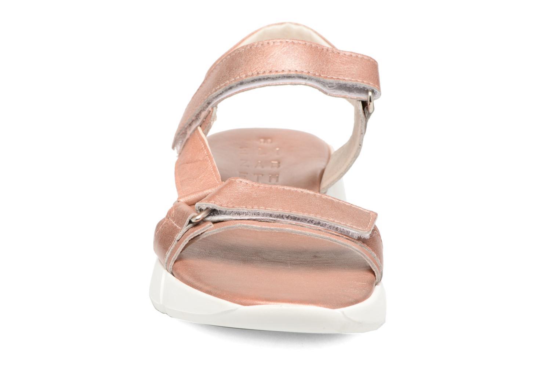 Sandales et nu-pieds Elizabeth Stuart Titien 391 Rose vue portées chaussures