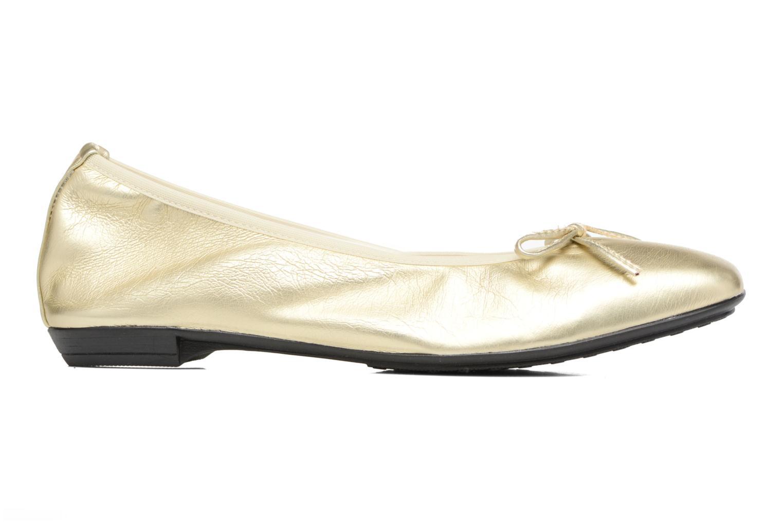 Ballet pumps Elizabeth Stuart Yonis 278 Bronze and Gold back view