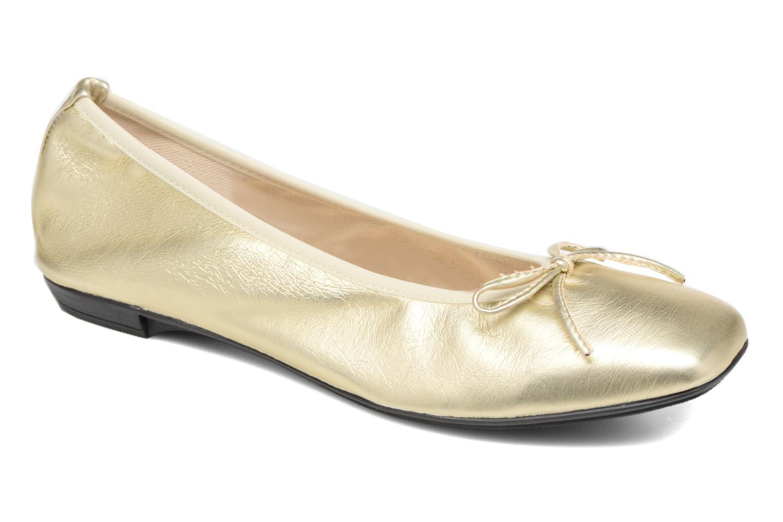 Ballerines Elizabeth Stuart Yonis 278 Or et bronze vue détail/paire