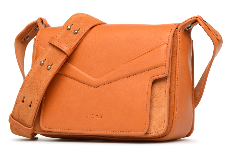 Sacs à main Nat & Nin Victoire Orange vue portées chaussures