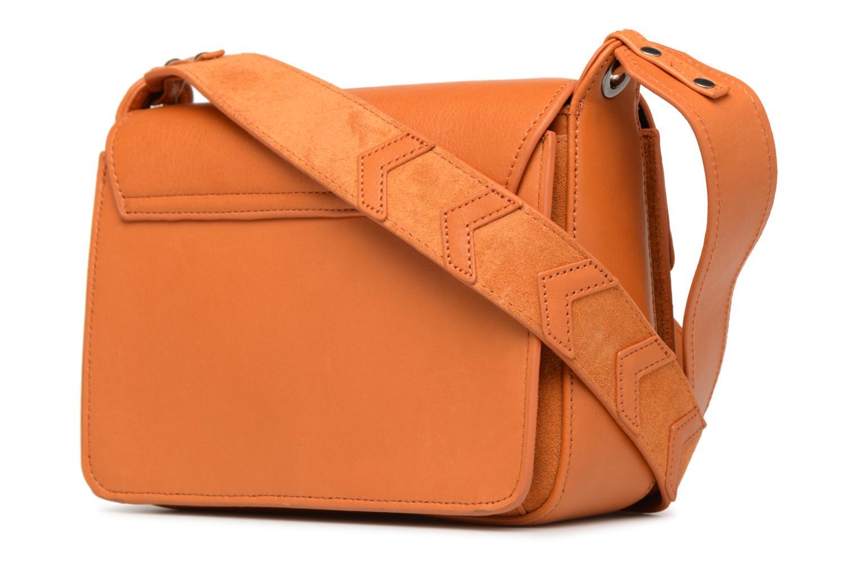 Handtaschen Nat & Nin Victoire orange ansicht von rechts