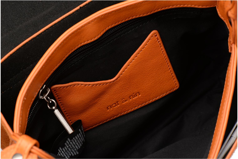 Handtaschen Nat & Nin Victoire orange ansicht von hinten