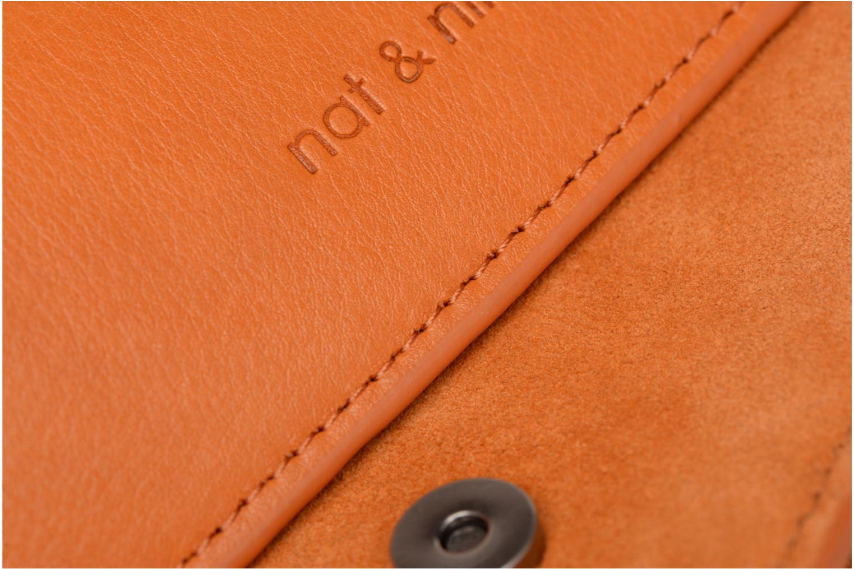 Handtaschen Nat & Nin Victoire orange ansicht von links