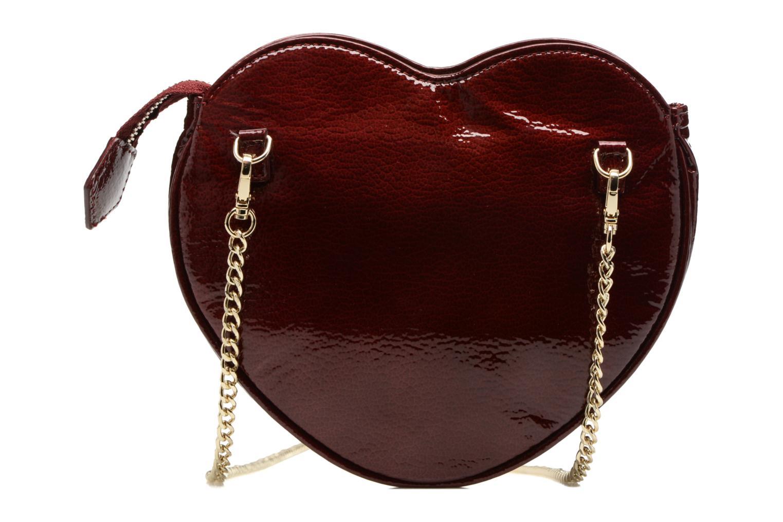 Sacs pochettes Vivienne Westwood Crossbody Cœur Margate Bordeaux vue face