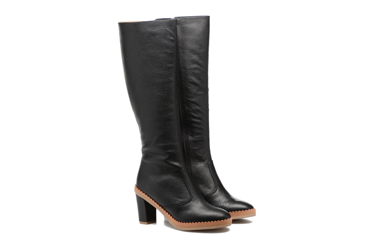 Botas See by Chloé Stasya High Boot Negro vista 3/4