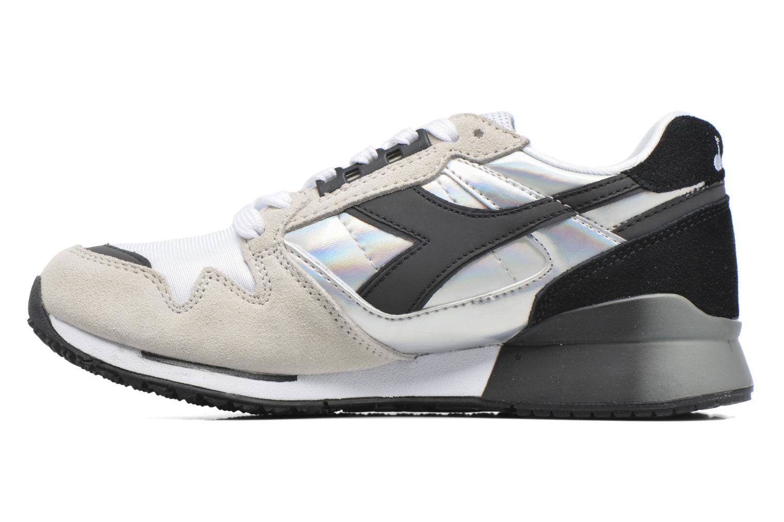 Baskets Diadora IC 4000 HOLOGRAM Gris vue face