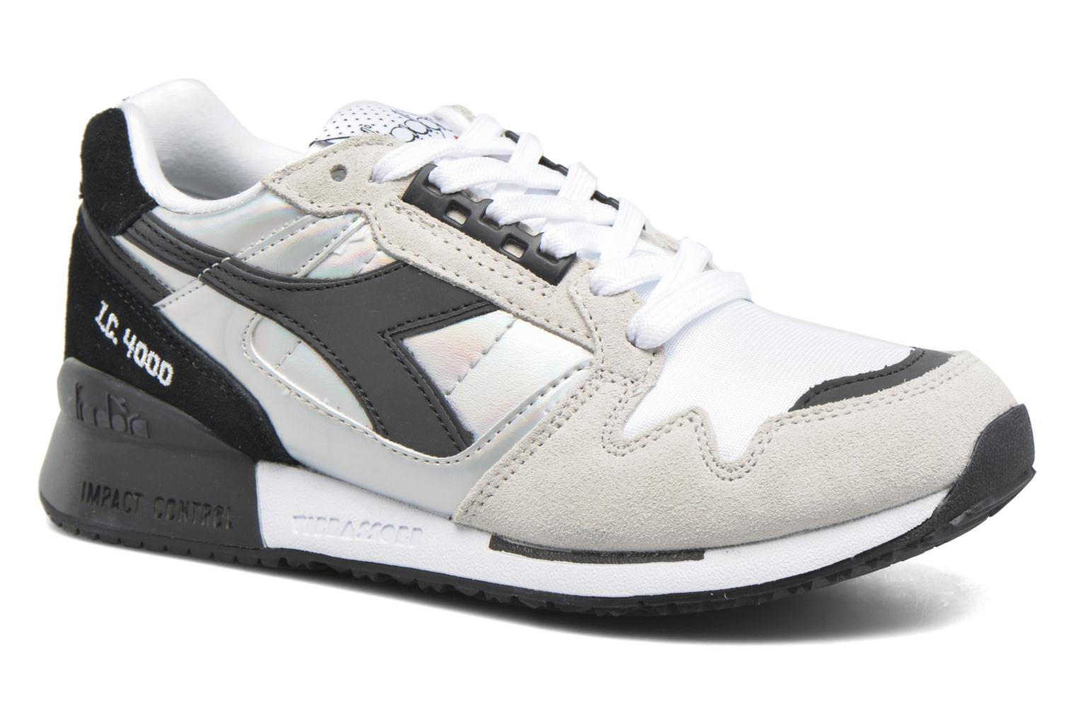 Baskets Diadora IC 4000 HOLOGRAM Gris vue détail/paire