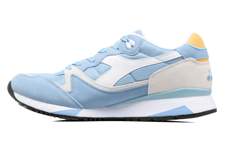 Sneaker Diadora V7000 NYL II blau ansicht von vorne