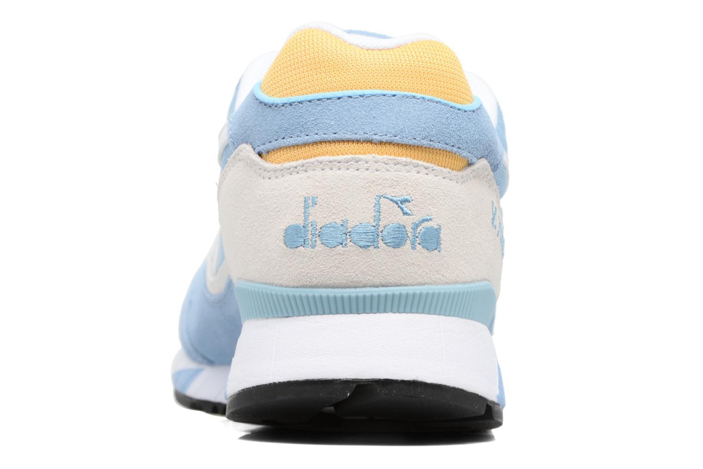 Sneaker Diadora V7000 NYL II blau ansicht von rechts