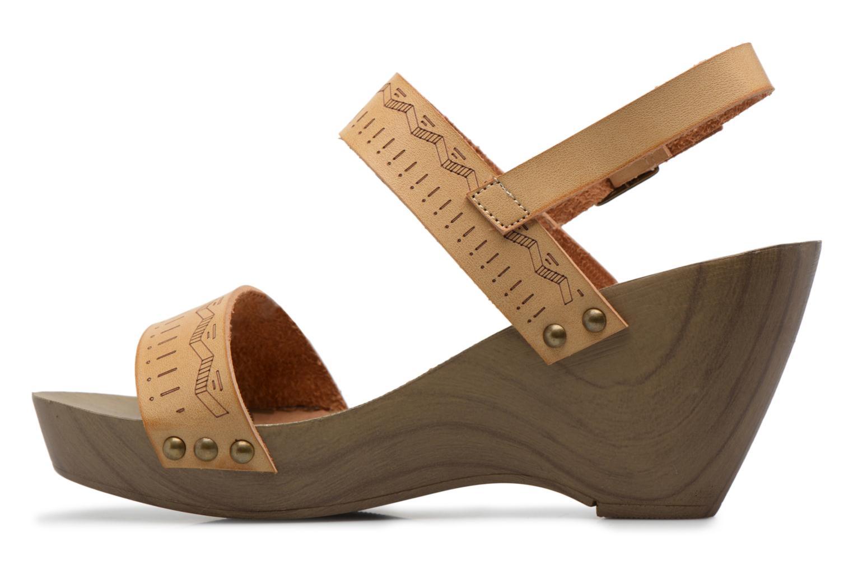Sandalen Coolway Caiman beige ansicht von vorne