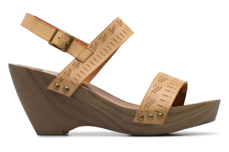 Sandali e scarpe aperte Coolway Caiman Beige immagine posteriore
