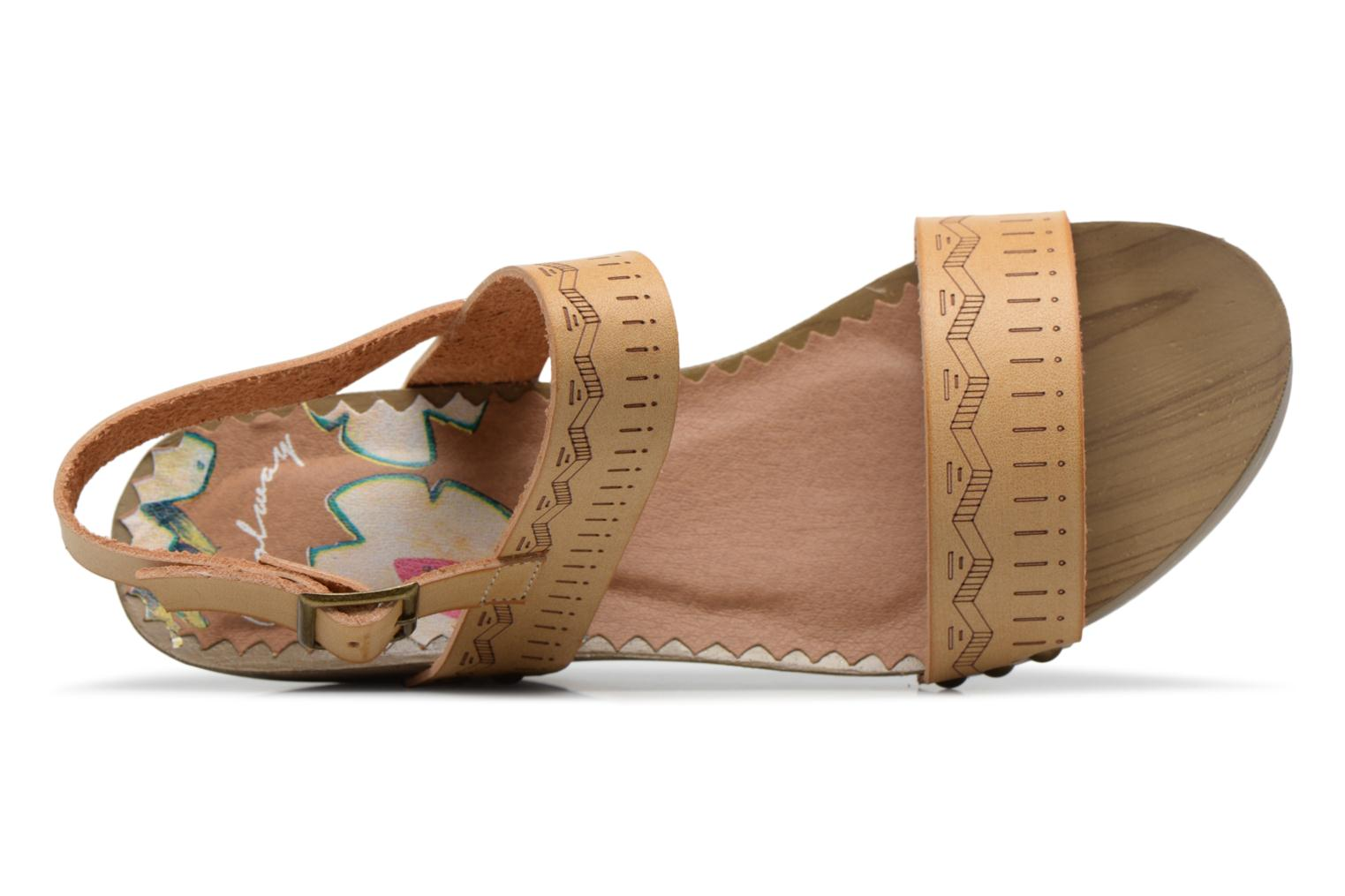 Sandals Coolway Caiman Beige view from the left