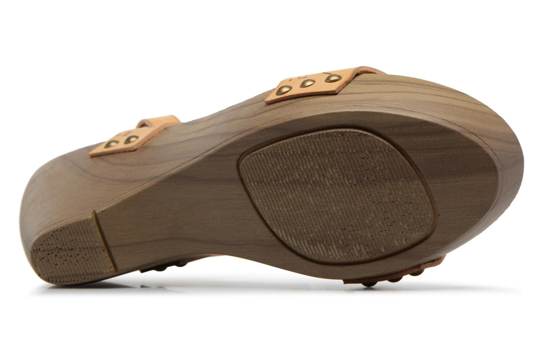 Sandali e scarpe aperte Coolway Caiman Beige immagine dall'alto