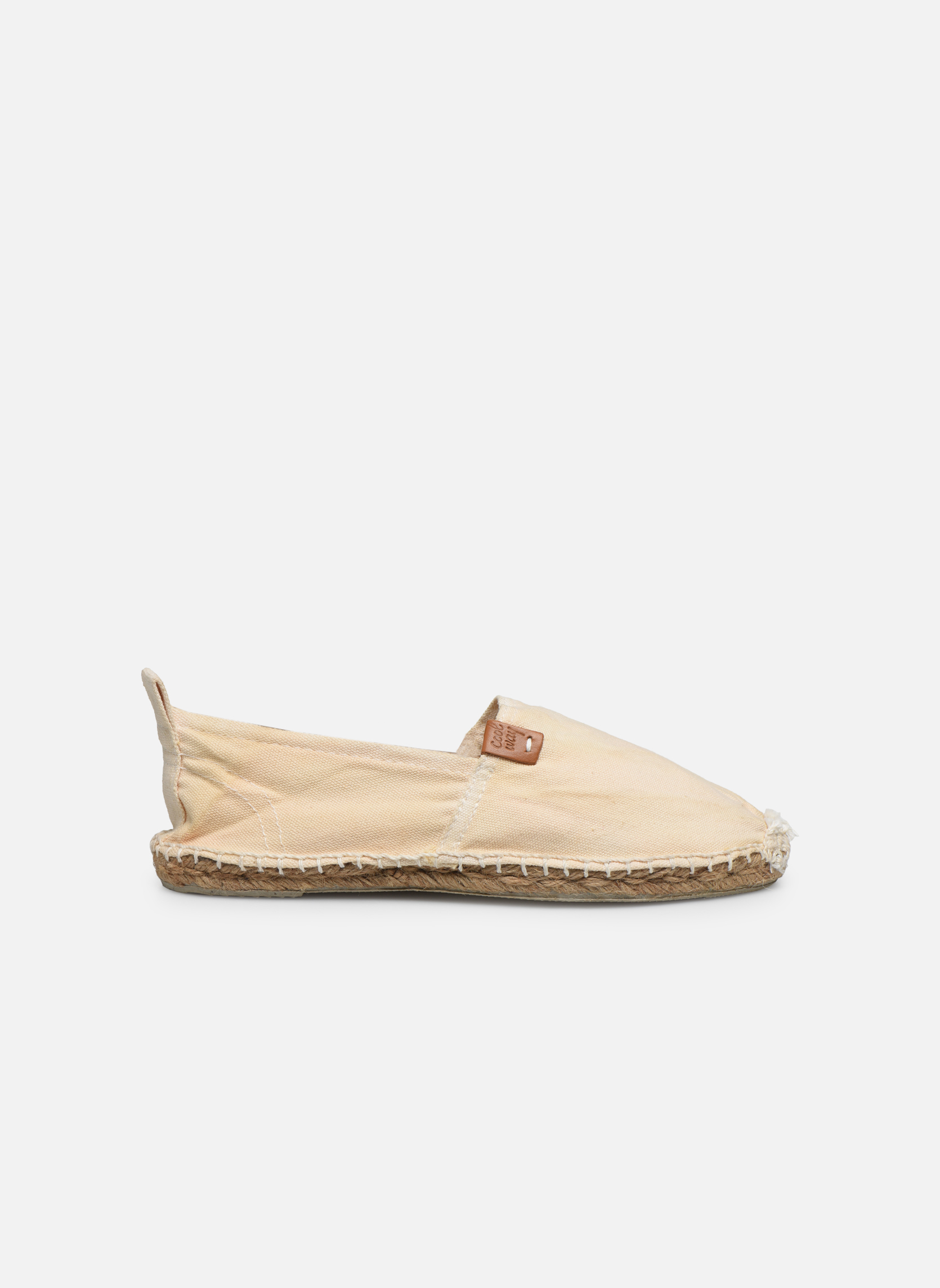 Espadrilles Coolway Janira White back view