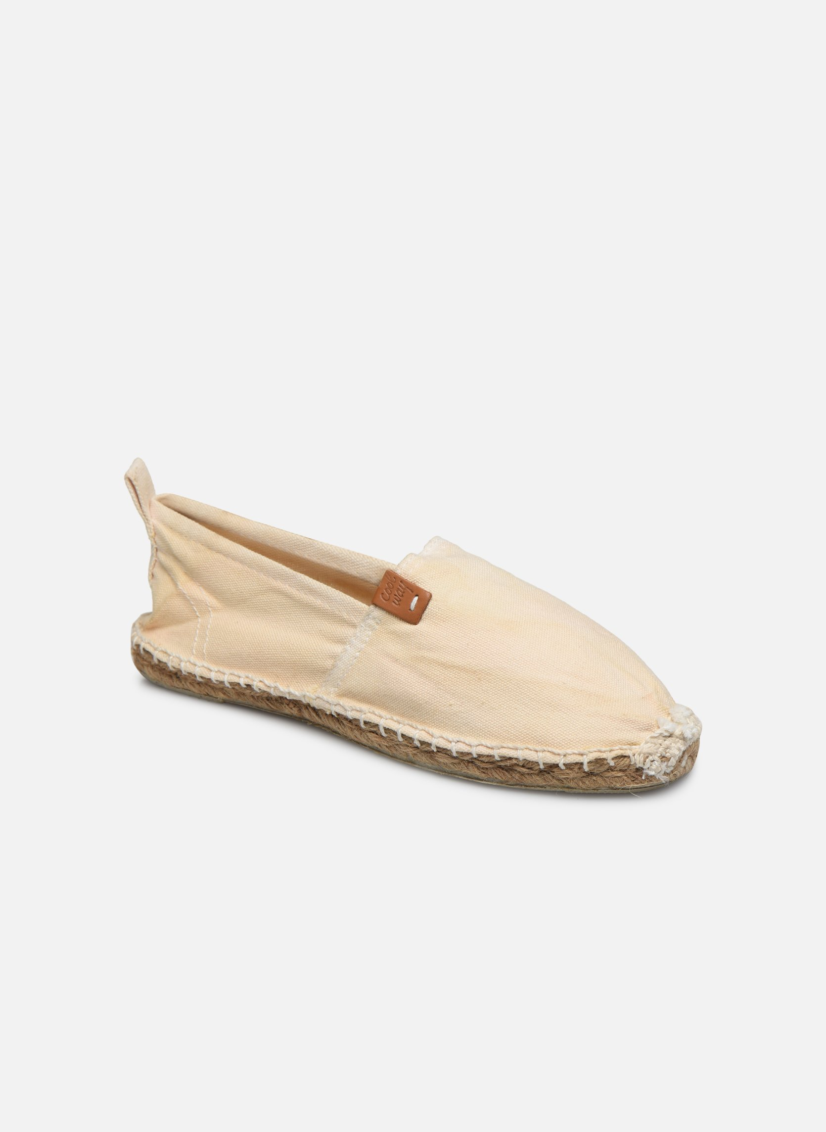 Espadrilles Coolway Janira White detailed view/ Pair view
