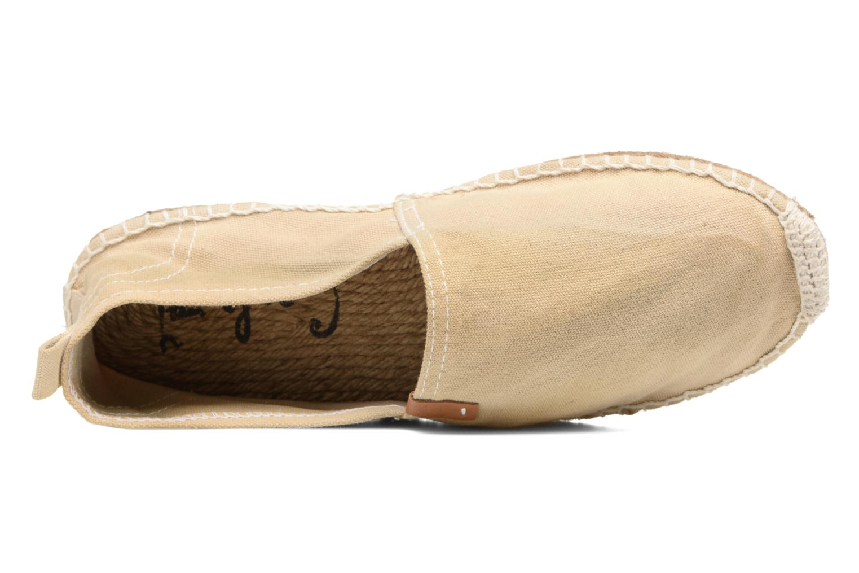 Scarpe di corda Coolway Jori Beige immagine sinistra