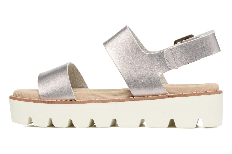 Sandales et nu-pieds Coolway Martina Argent vue face