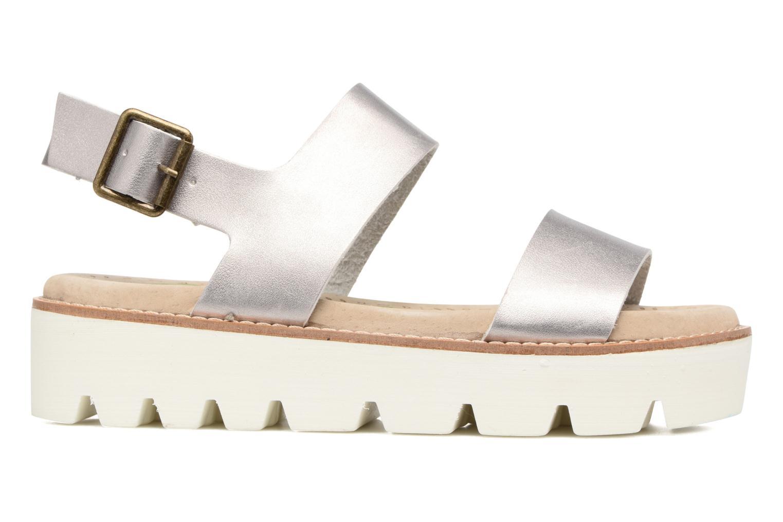 Sandales et nu-pieds Coolway Martina Argent vue derrière
