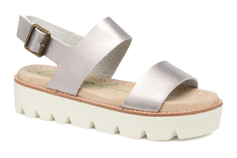 Sandales et nu-pieds Coolway Martina Argent vue détail/paire