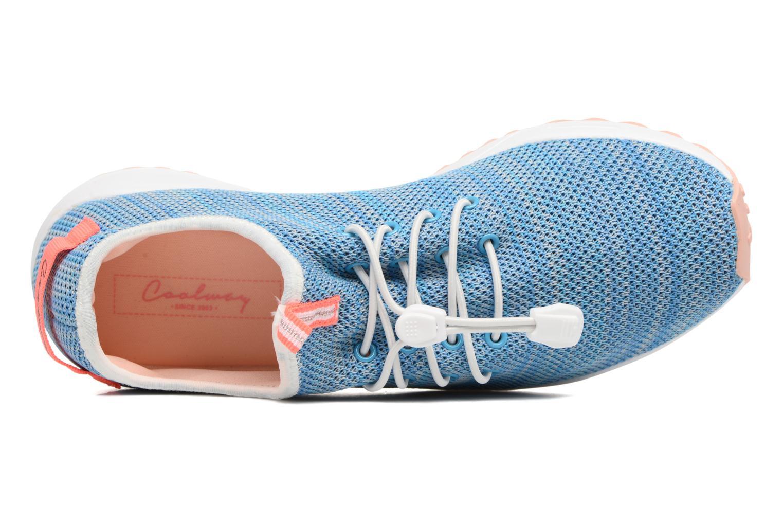 Sneaker Coolway Tahali blau ansicht von links