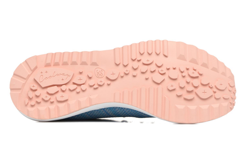 Sneaker Coolway Tahali blau ansicht von oben