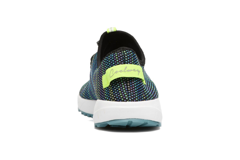 Baskets Coolway Tahali Bleu vue droite