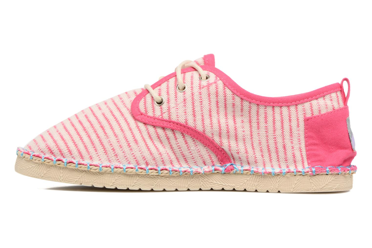 Lace-up shoes Coolway Trebol Pink front view