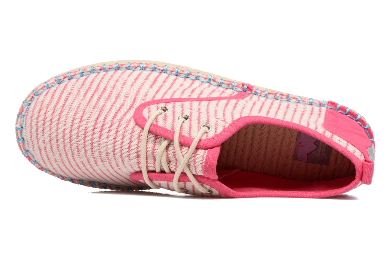 Lace-up shoes Coolway Trebol Pink view from the left