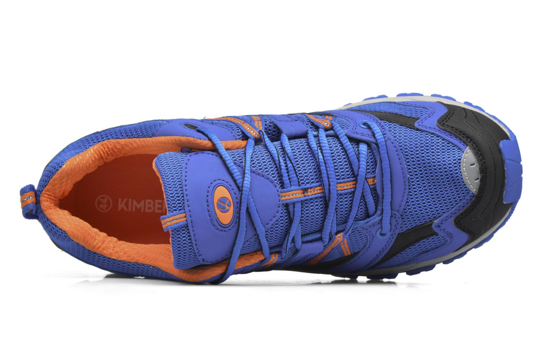 Zapatillas de deporte Kimberfeel RIDGE Azul vista lateral izquierda
