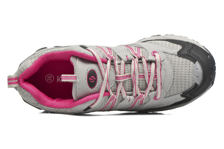 Chaussures de sport Kimberfeel RIDGE Gris vue gauche