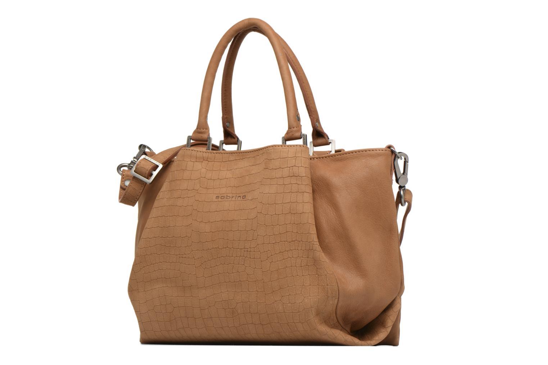 Handtaschen Sabrina Aliénor croco braun schuhe getragen