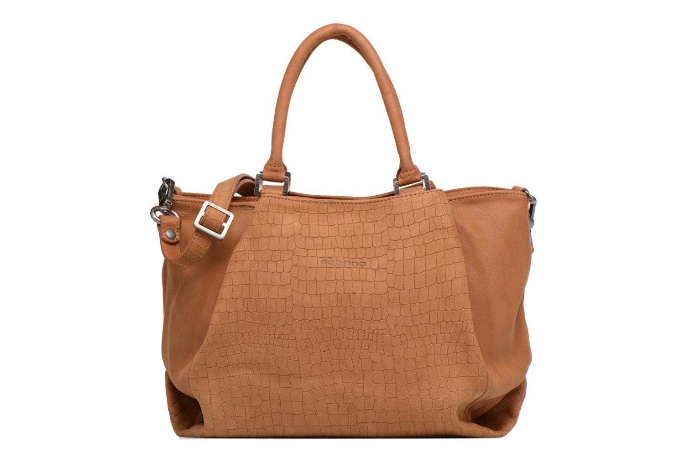 Handtaschen Sabrina Aliénor croco braun detaillierte ansicht/modell