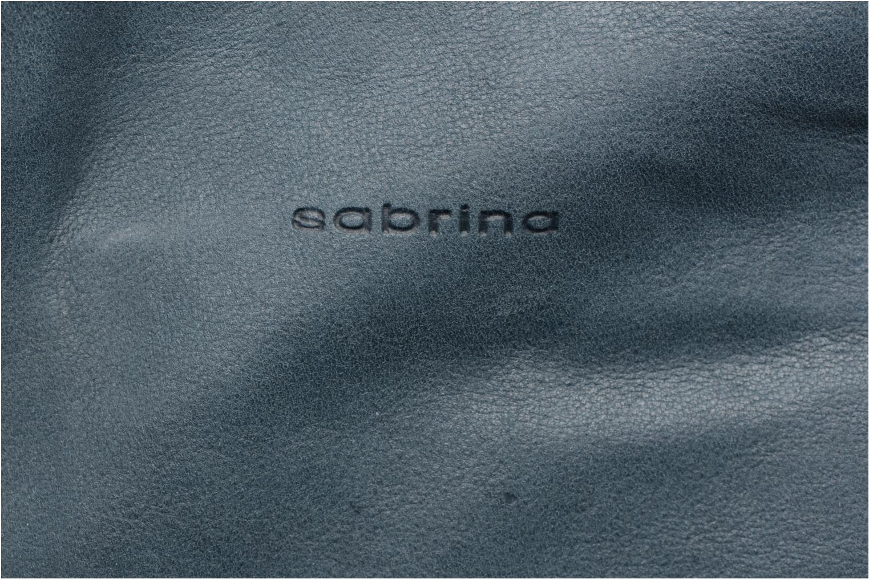 Sacs à main Sabrina Castille Bleu vue gauche