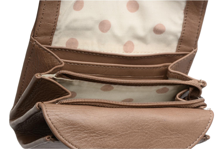Portemonnaies & Clutches Sabrina Laura braun ansicht von hinten