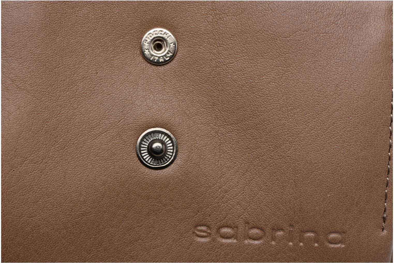 Portemonnaies & Clutches Sabrina Laura braun ansicht von links