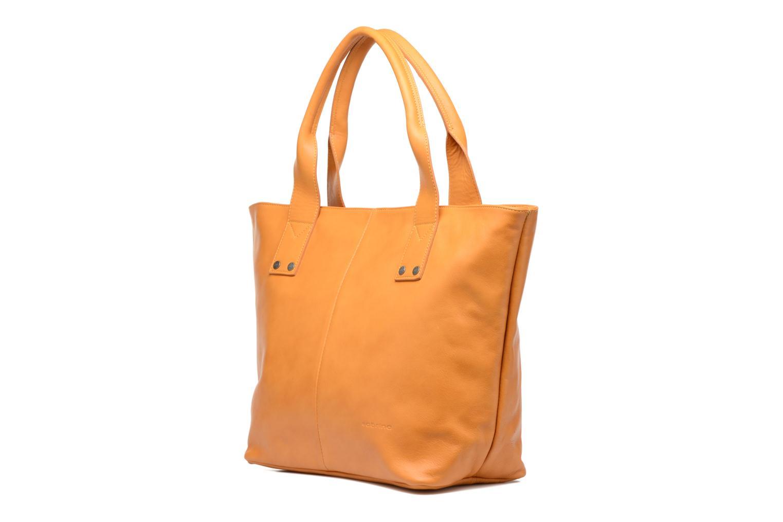 Handtaschen Sabrina Marianne gelb schuhe getragen