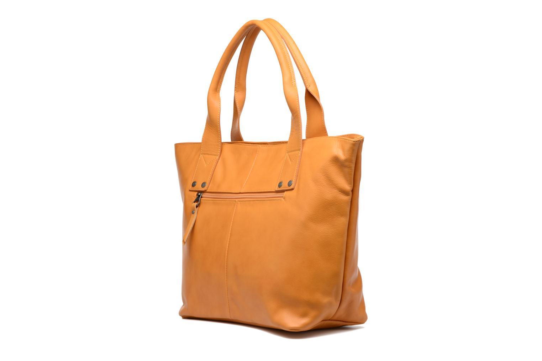 Handtaschen Sabrina Marianne gelb ansicht von rechts