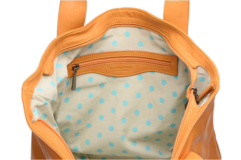 Handtaschen Sabrina Marianne gelb ansicht von hinten