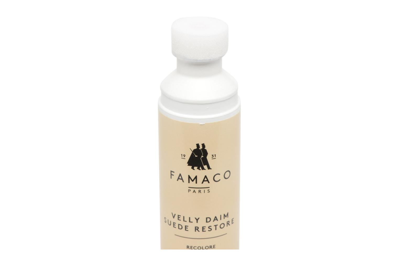 Schuhpflegeprodukte Famaco Velly daim schwarz ansicht von vorne