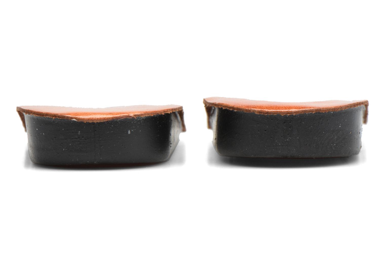 Talonette galbante 2cm marron