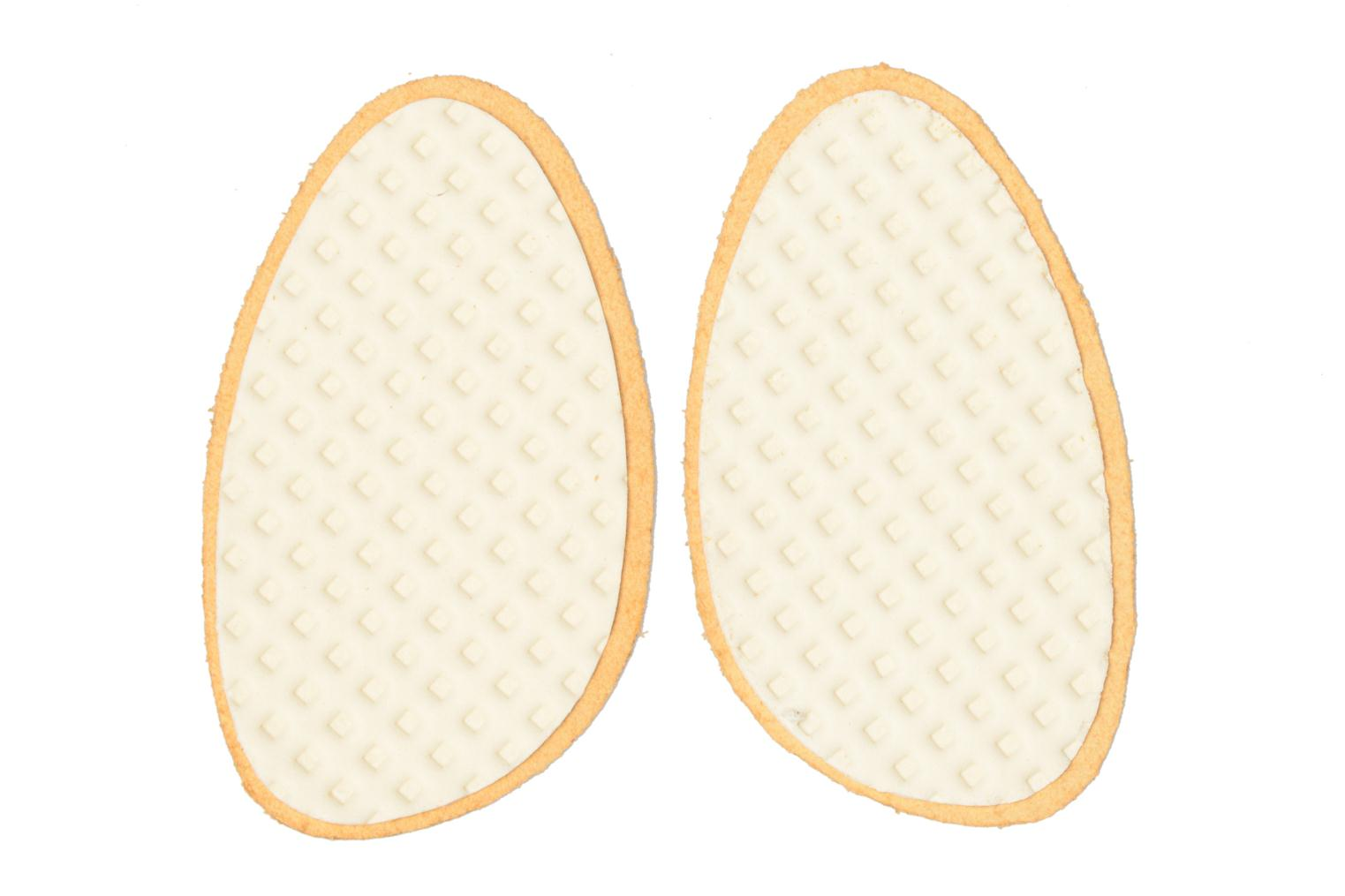 Insoles Sarenza care Demi-semelle Cuir Brown model view