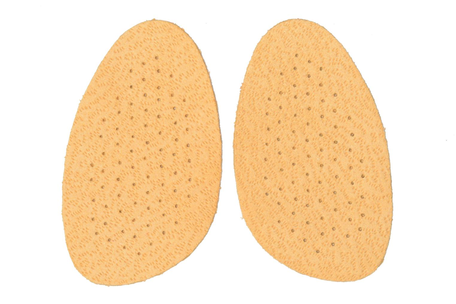 Insoles Sarenza care Demi-semelle Cuir Brown detailed view/ Pair view