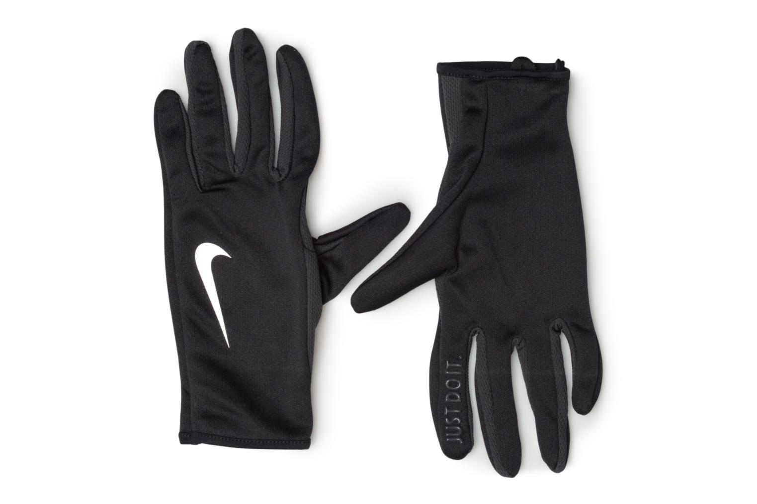Diversos Nike WOMEN'S RALLY RUN GLOVES 2.0 Negro vista de detalle / par