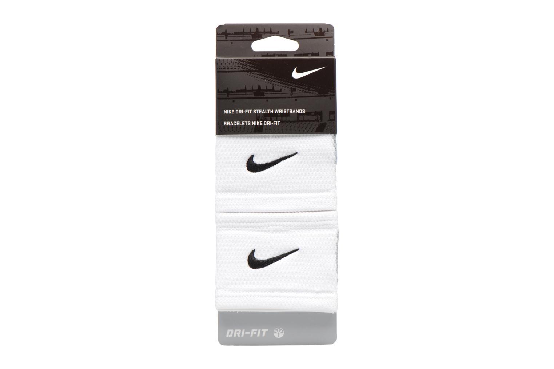 Diverse Nike DRI-FIT STEALTH WRISTBANDS Hvid se skoene på