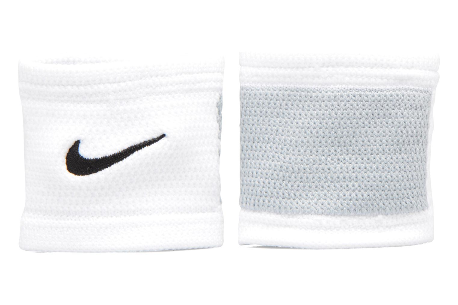 Divers Nike DRI-FIT STEALTH WRISTBANDS Blanc vue détail/paire