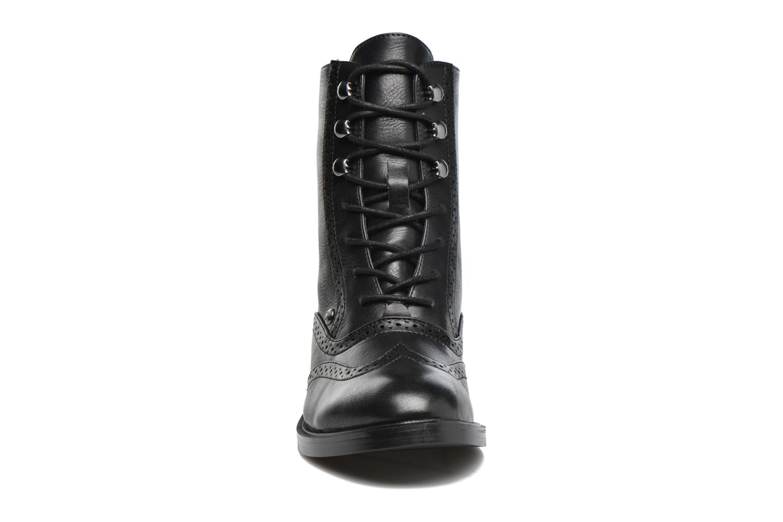 Chaussures à lacets Chattawak Marlene Noir vue portées chaussures