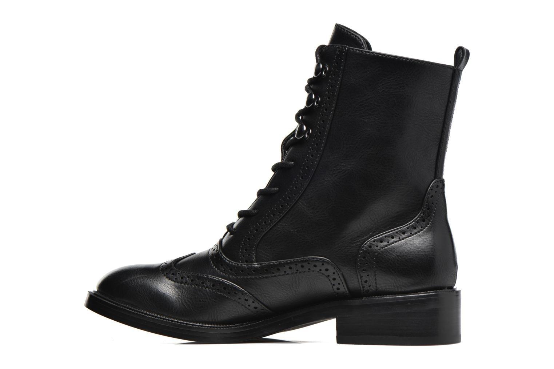 Chaussures à lacets Chattawak Marlene Noir vue face