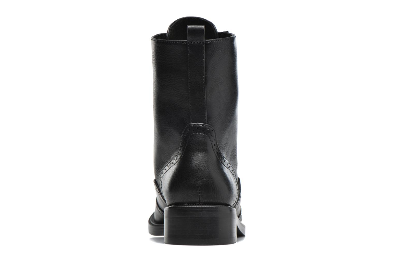Chaussures à lacets Chattawak Marlene Noir vue droite